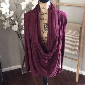 Sweaters - Nordstrom Burgundy Cowl Neck Sweater size M